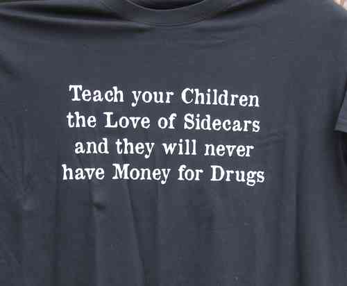 "T-Shirt ""No Money for Drugs"""