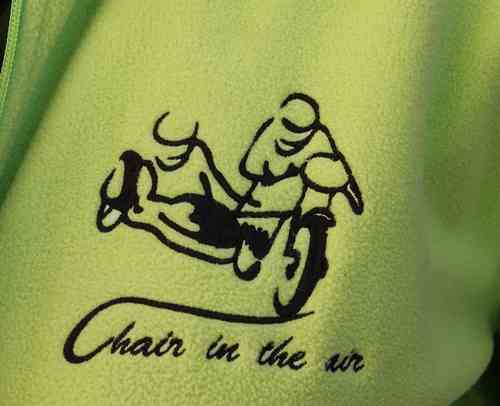 "Fleece-Jacke ""Chair in the air"""