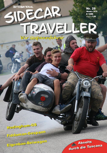 "Single Issue ""Sidecar Traveller"" Nr. 28"